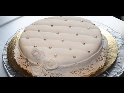 D coration g teau avec une p te sucre youtube for Decoration gateau pate a sucre