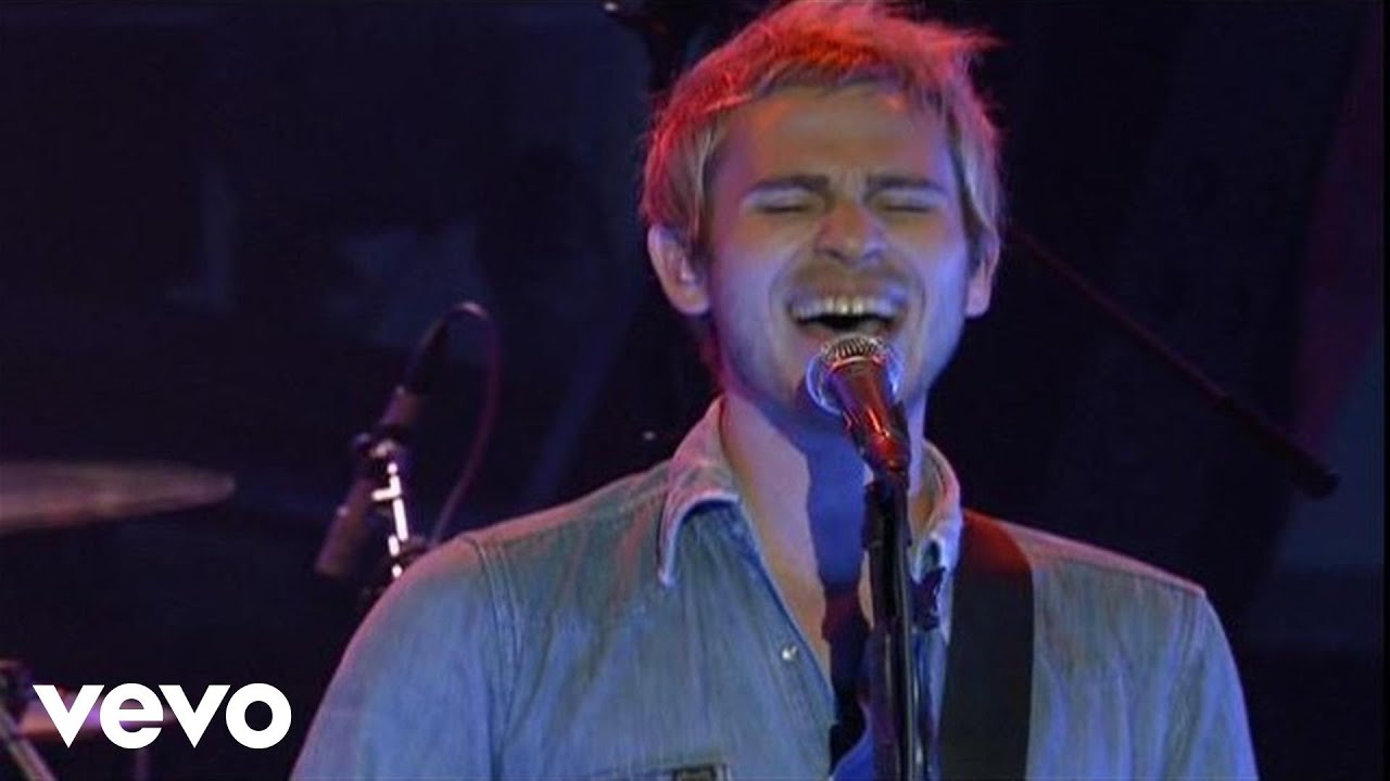 Lifehouse - Hanging By A Moment (Yahoo! Live Sets) - YouTube