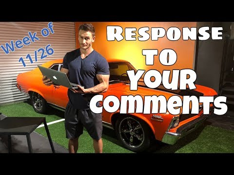 Your Most Asked Comments - Answered  Q&A Week 112618