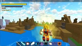Roblox #4 Dragon Ball Final Stand: SSJ3 transfiguration [ENGLISH VERSION]