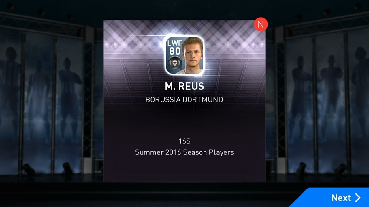 How To Get Marco Reus(LW) In PES 2017 Mobile
