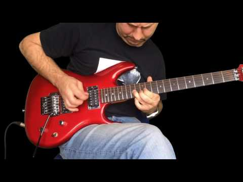 Joe Satriani - If I could fly - Lesson Part 1