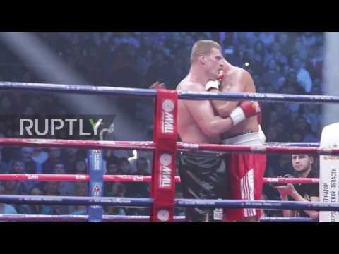 Russia: Povetkin knocks out Duhaupas after failing drug test