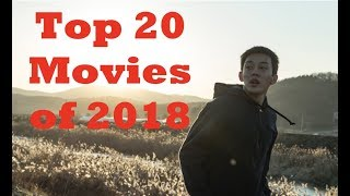 Top 20 Movies of 2018
