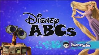 ABC Song | ABCs Song for Children - Disney Edition Nursery Rhyme
