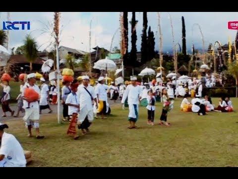 Warga Bali Tengah Sembahyang Panik, Melihat Lawa Pijar Gunung Agung - SIS 04/04