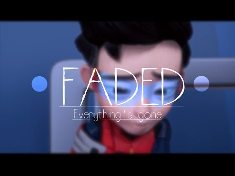 AMV Ejen Ali - Faded (restrung) Nightcore