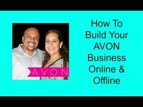 AVON Representative Gary & Lynette Bledsoe Share How To Sell AVON Online & Offline