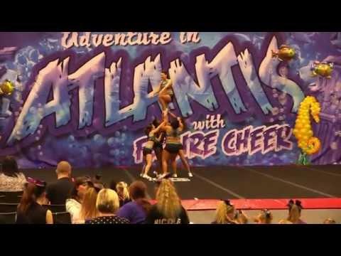 East Elite Allstars - Senior Stunt Group Level 2 - 1st Place - FC - Adventure in Atlantis