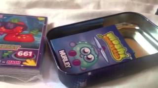 Moshi Monsters Mash Up Party Collector Tin Opening&Review!