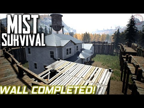 Mega Wall Completed | Mist Survival | S1...