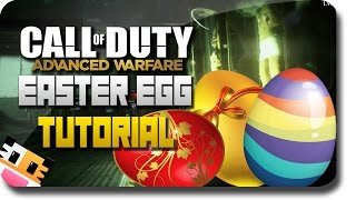 "COD Advanced Warfare ""Exo Zombies"" DLC - How To Do The ""Easter Egg Tutorial"" (COD AW Zombie)"
