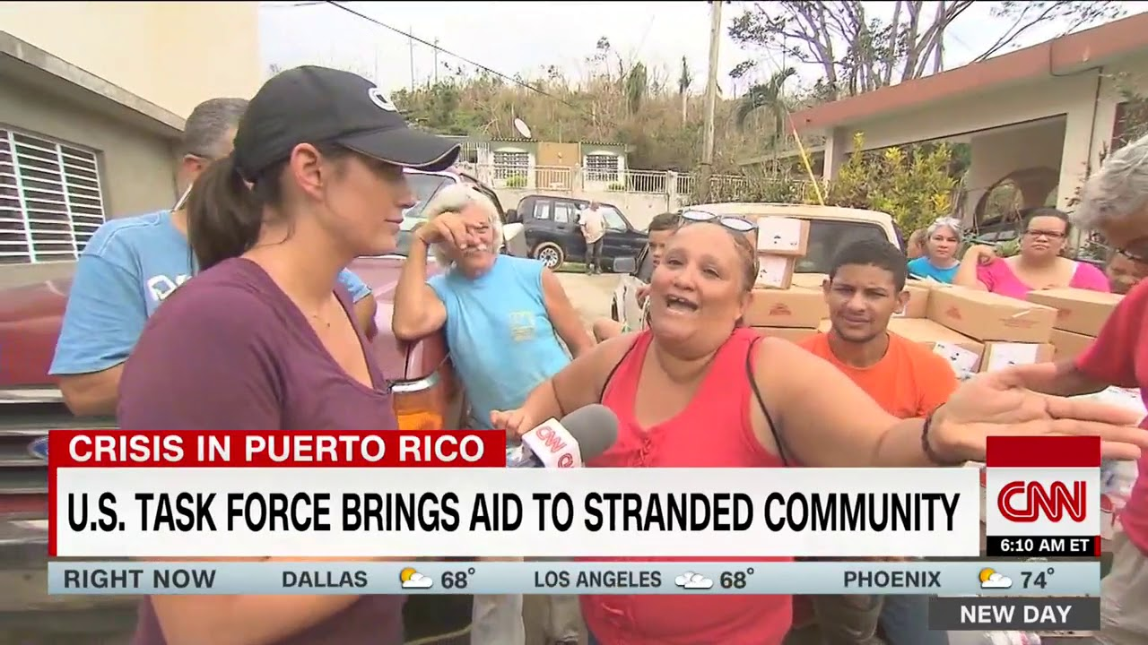 US task force brings aid to Puerto Rico