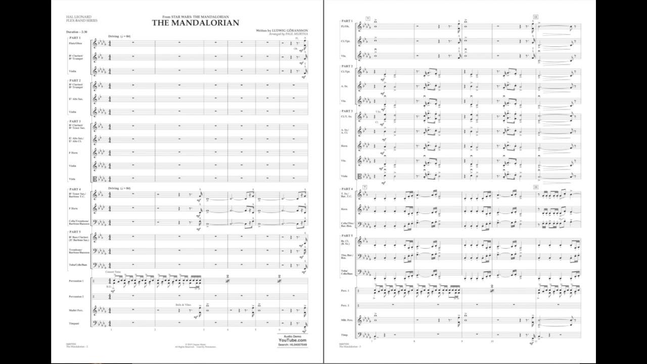 The Mandalorian by Ludwig Göransson/arr. Paul Murtha