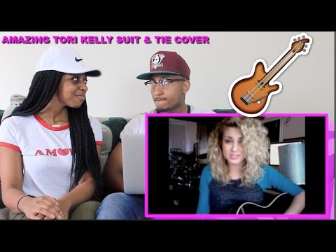 Couple Reacts : Tori Kelly (KILLS) Acoustic Cover Suit & Tie Reaction!!