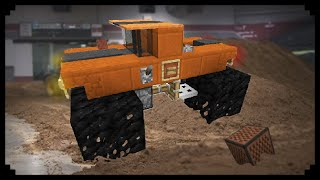 ✔ Minecraft: How to make a Monster Truck