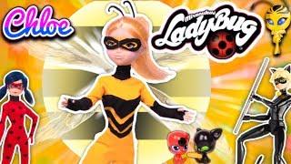 CHLOE recibe MIRACULOUS de ABEJA REINA 🐝 Queen Bee y pelea con 🐞 LADYBUG 🐾 - Juguetes Fantásticos