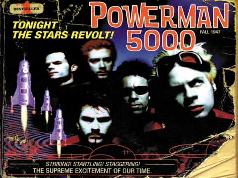 Powerman 5000 - Tonight The Stars Revolt !! (1999) [Full Album]