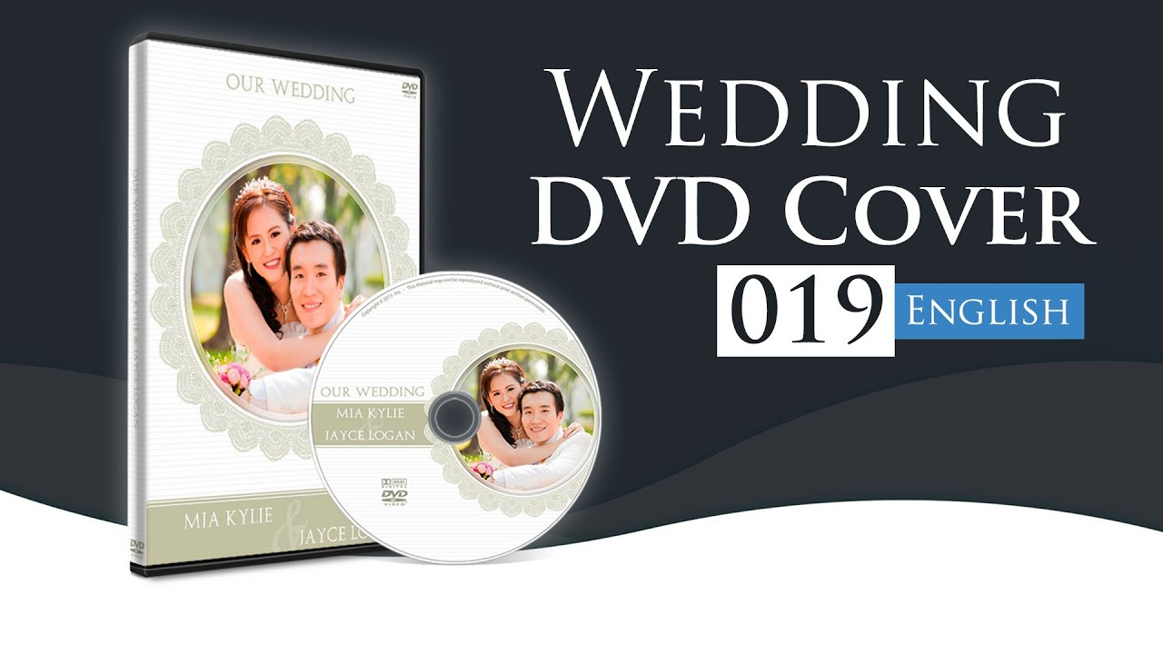 How To Make A Wedding Dvd Cover In Photoshop Using Wedding Dvd Cover 19 Youtube