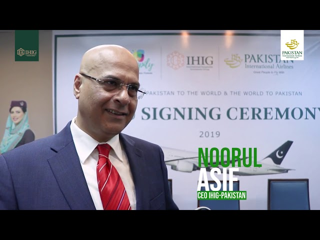 IHIG partners with Pakistan International Airlines
