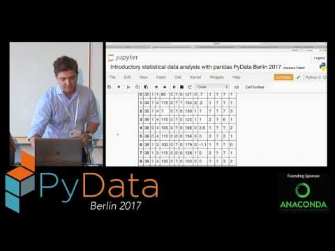 Alexandru Agachi - Introductory tutorial on data exploration and statistical models