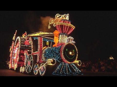 TDL 2017/9/21 エレクトリカルパレード ・ドリームライツ Tokyo Disneyland Electrical Parade Dreamlights