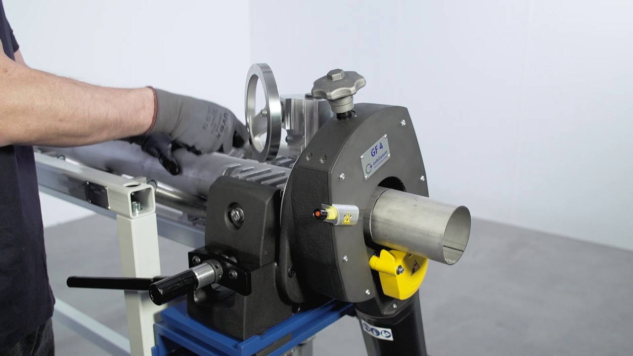 Pipe cutting and beveling machines GF