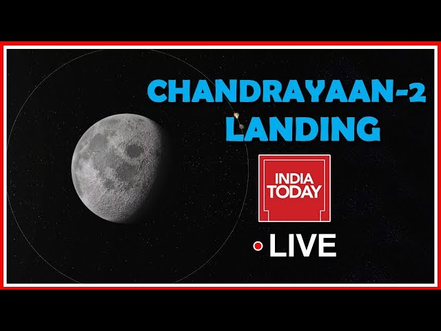 Countdown To Chandrayaan 2 Landing On Moon | English News Live 24X7 | Live News Updates