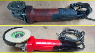 Hand Tool Angle Grinder Restoration - Hitachi Power