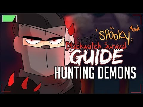 Demon Hunters - Part 1 - SPOOKY Blackwatch Survival Guide | Overwatch Comic Dub