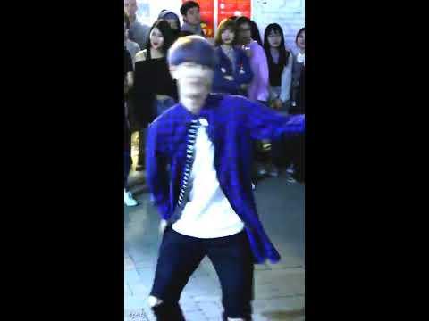 [찍캠/Fancam] 170429 Liberty 리버티 홍대 8시 (2차) 버스킹 - BTS 방탄소년단 쩔어 Cover (환)