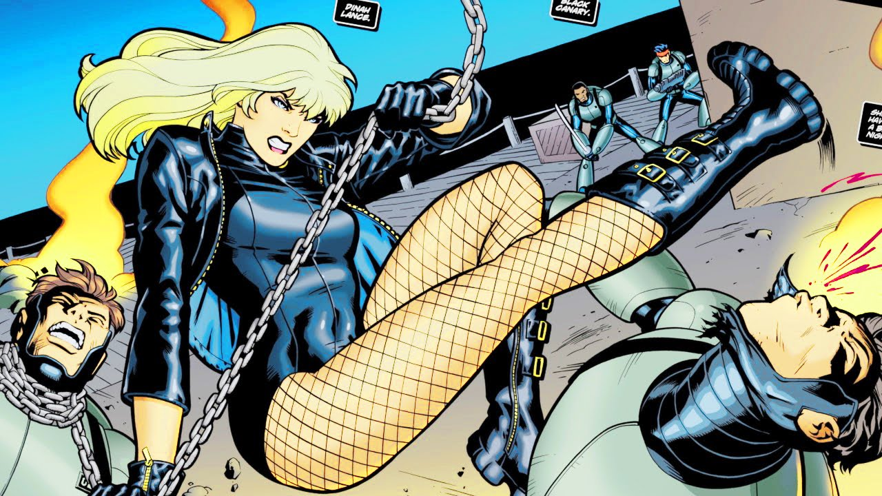Image result for black canary comic