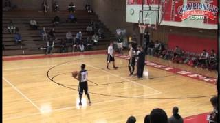 Score in the paint against zone defense! - basketball 2015 #19