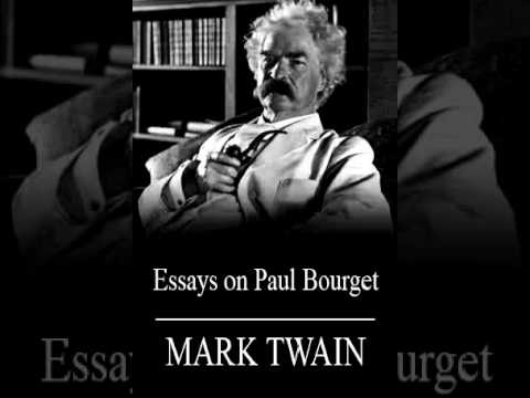 Sample High School Essays Mark Twain  Essays On Paul Bourget Audiobook Healthcare Essay Topics also High School English Essay Topics Mark Twain  Essays On Paul Bourget Audiobook  Youtube Analysis Essay Thesis