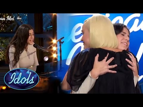 Katy Perry HUGS Contestant After TOUCHING Performance   Idols Global