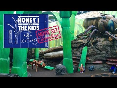 Tour Of Honey, I Shrunk The Kids Movie Set Adventure At Hollywood Studios