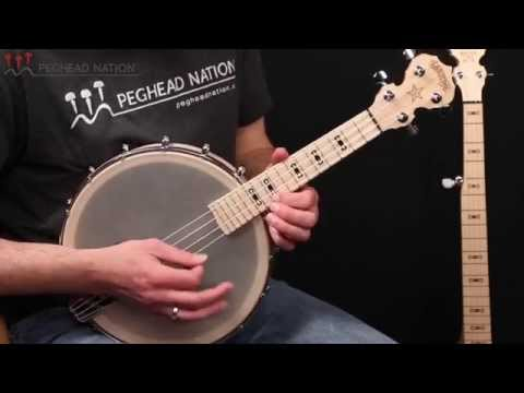 Deering Goodtime Banjo Ukulele Demo from Peghead Nation
