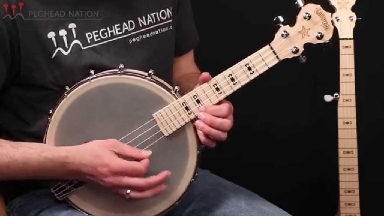 Deering Goodtime Banjo Ukulele Demo from Peghead Nation
