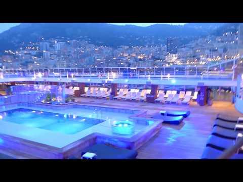 Oceania Riviera docking at Port of Monaco