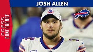 Bills quarterback josh allen meets with the media following their 42-16 loss to titans tuesday. topics include: turnovers by himself and how they factore...