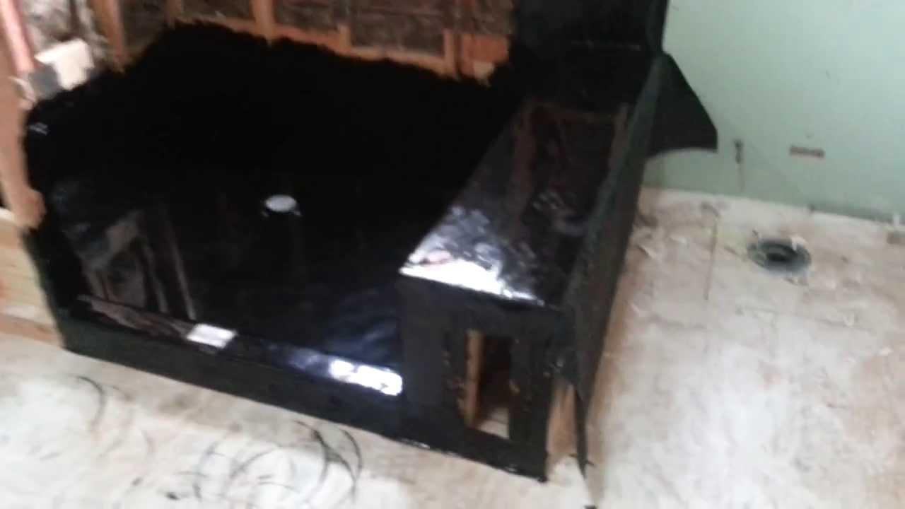 Shower Waterproofing , Hot Mop   YouTube