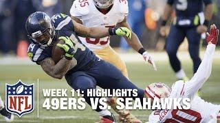 49ers vs. Seahawks | Week 11 Highlights | NFL