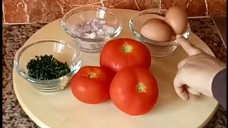 طريقة رااائعةو مبهرة لطهي البيض بالطماطم😊😊👍👍سوف تعجبكم حتما😋😋