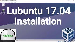 Lubuntu 17.04 Installation + Guest Additions on Oracle VirtualBox [2017]