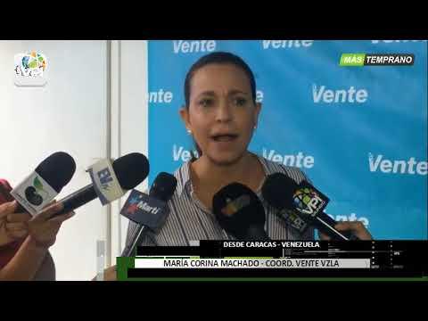 """Venezuela - María Corina Machado ratificó que """"no hay espacio para la neutralidad"""" - VPItv"""