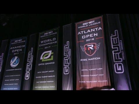 G FUEL Banner Reveal   Rise Nation, Luminosity, FaZe Clan   CWL Seattle Open 2018