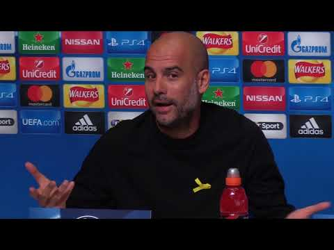 Guardiola hints Aguero and Jesus cannot play together