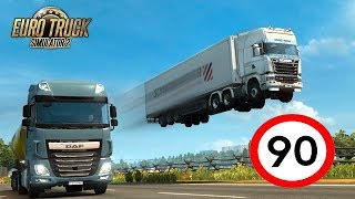 ???? ETS 2 Multiplayer 90km/h #NA ŻYWO #GIVEAWAY#PSC - Na żywo