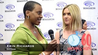 60 Seconds with Gotham's Erin Richards