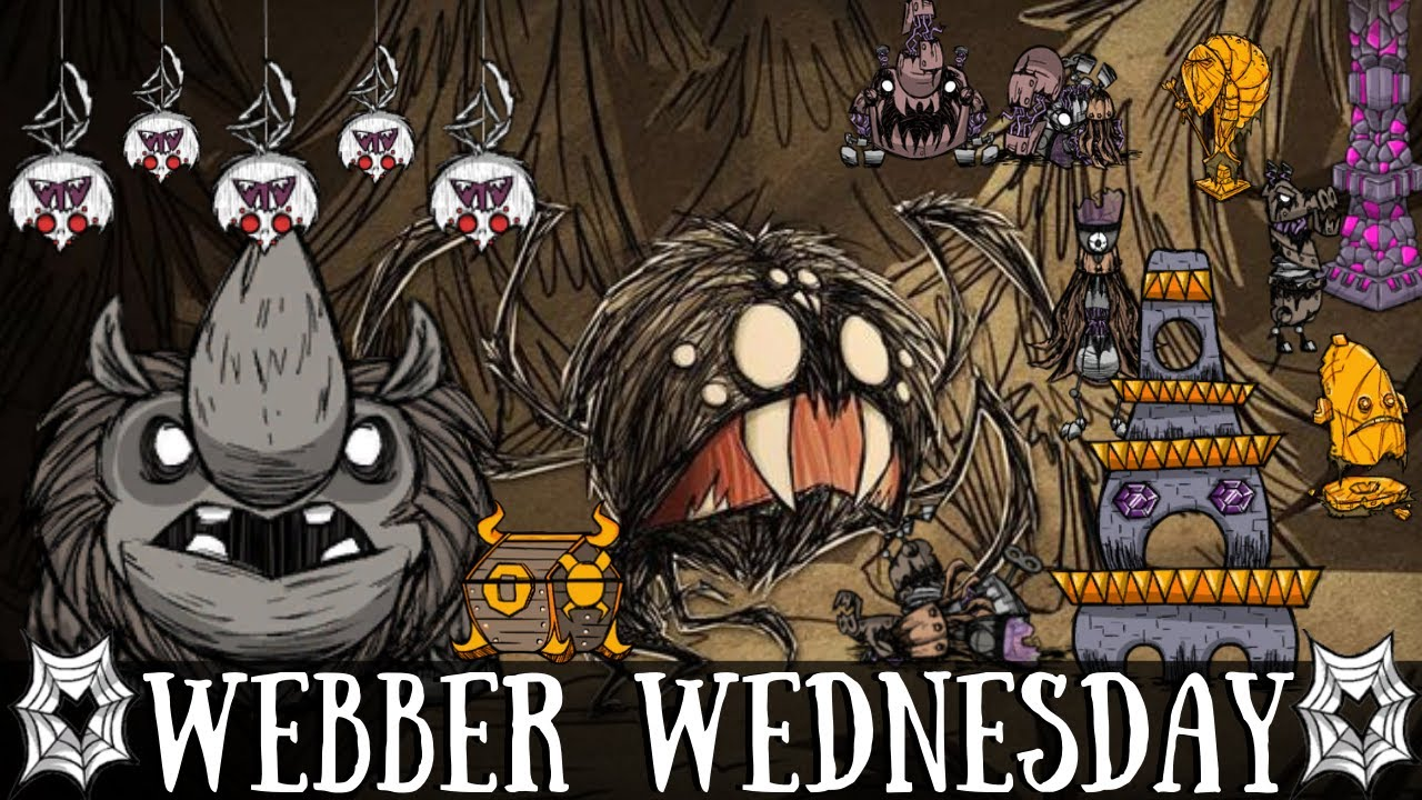 Webber Wednesday - Loopy Ruins & The Ancient Guardian Fight! [Don't Starve Together]